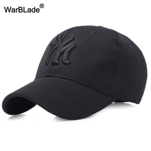 1bc9c5a11f22a 2018 New unisex black baseball cap men snapback hat women cap flexfit  fitted hat Closed Male