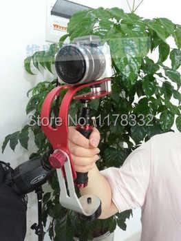 De mano Steadycam estable cámara de vídeo estabilizador frente adaptador para cámara digital DV cámara SLR d90 d3100 d7000 d5100