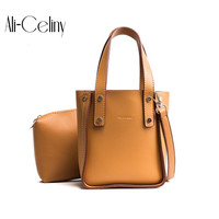 Chic Bucket Tote Bags Women Handbags Famous Brands Michael Handbag Fashion Style Leather Shoulder Composite Bag
