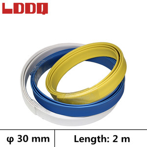 LDDQ 2m Shrinkable tubing with glue 3:1 Dia 30mm Heat shrink tube Adhesive Wire wrap guaina termorestringente Best Promotion!!!