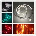 DC5V 5050 USB LED Strip 30LEDs/m IP20 Non Waterproof RGB Flexible led Tape Ribbon TV Background Light Shop Window Lights Luces