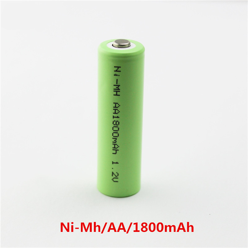 AA 1.2V Ni-MH Rechargeable battery 1800mAh Telecontrol digital electronic product 2A battery
