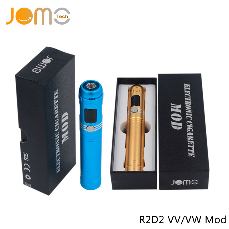 Original OLCD JOMOTECH R2D2 Box Mod VW 5 15W Variable Voltage 510 Ego Electronic Cigarette Without