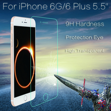 HD Optical Transmittance Top Quality Tempered Glass Screen Protector Film Free Shipping 100pcs lot For iPhone