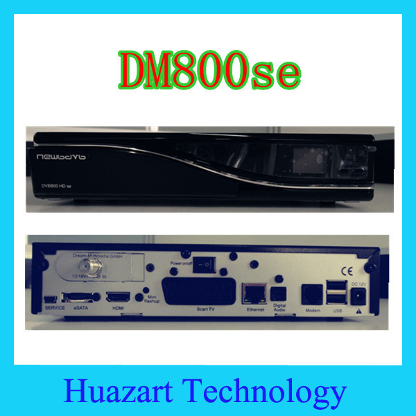 Free Shiping 800se DM800se BCM7405 Tuner 400Mhz Processor Linux &Enigma2 OS SIM card DVB-S2 Satellite TV Receiver to World wide