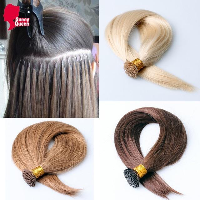 I Tip Fusion Hair Extensions 8a Malaysian Straight Virgin Hair 1g