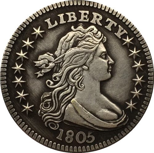 1805 Draped Bust Quarters COIN COPY FREE SHIPPING