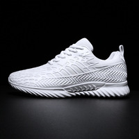 2019 Summer New Casual Women's Shoes White Mesh Breathable Sneakers Men's Shoes Men's Shoes