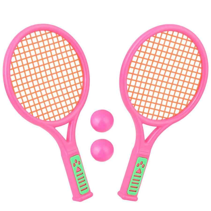26.5cm 1 Pair Children Tennis Rackets Outdoor Sports Portable Badminton Rackets Kids Toy Child Racquet Sports