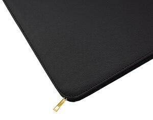 Image 3 - Качественная авторучка/Ручка роллер сумка пенал для 48 ручек черный кожаный держатель для ручек/мешочек