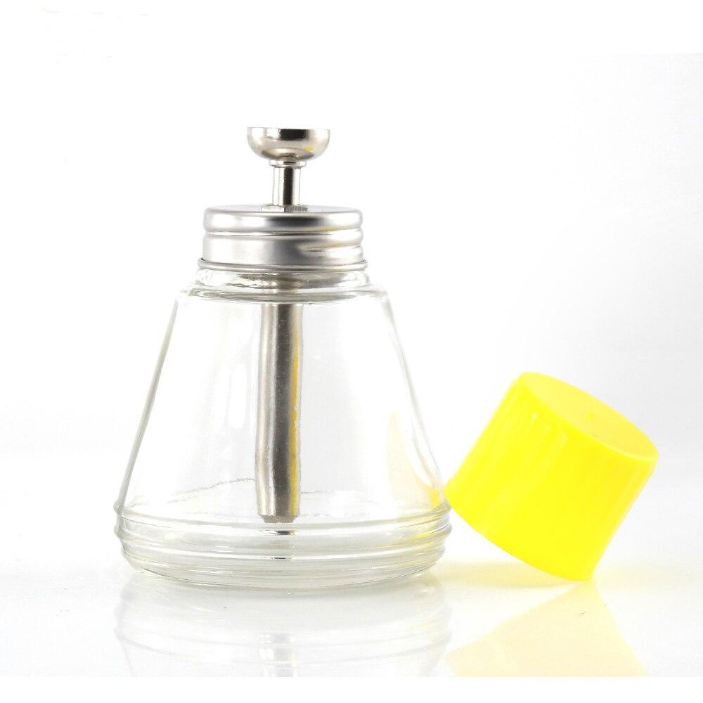150 ML de Vidro Vazio Portátil Álcool Líquido Garrafa Garrafa Bomba Dispensador De Cola Removedor de Resíduos PCB Ferramenta de Limpeza de Vidro Bomba de Álcool
