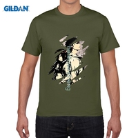 GILDAN DIY Style Mens T Shirts Newest Classic Japanese Anime Steins Gate T Shirt Men S