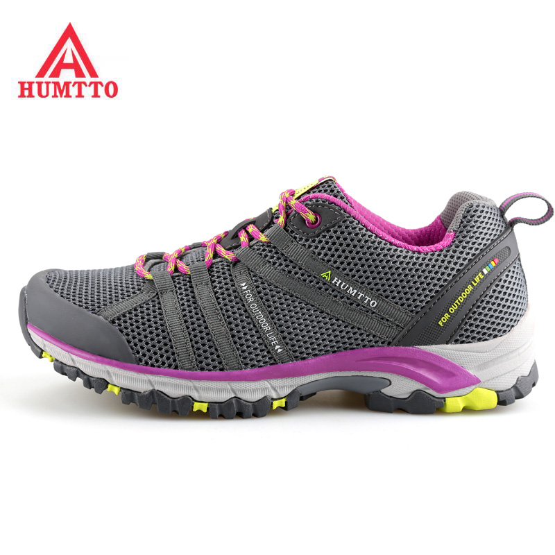 HUMTTO Women's Breathable Outdoor Hiking Trekking Shoes Sneakers For Women Sports Climbing Mountain Trail Shoes Woman Senderismo brand sneakers women 2017 hiking shoes woman breathable climbing shoes outdoor sneakers waterproof trekking shoes large sizes