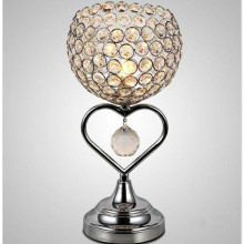 Modern Simple Crystal Table Lamp Creative American Bedroom Bedside Romantic Wholesale Desk For