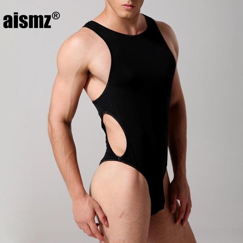 Aismz мужской корсет Ice Шелковый боди мужчин masculino пряжки цельный нижнее белье Корректирующее белье для мужчин комбинезон Фаха reductora Hombre