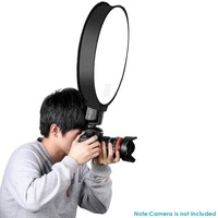 12 30cm Portable Mini Small Little Round Soft Box Photo Photography Studio Shooting Tent Light Diffuser SoftBox CD15