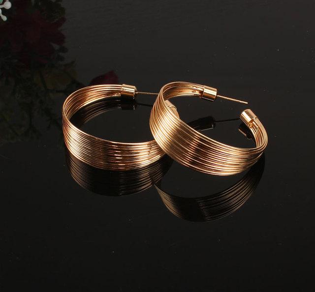 Indyjski biżuteria zestaw moda metal Wire torques Choker naszyjniki Bangle kolczyki pierścienie zestawy dla kobiet sukienka prezent dla nowożeńców akcesoria