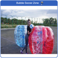 Free Shipping 1.5m TPU Bubble Football Inflatable Bubble Soccer Air Bumper Ball Football Bubble Soccer Body Zorb Ball