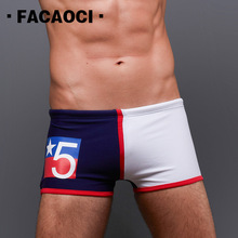 Clothings Swimsuits Swimwear Trunks Boxers Beach-Man Summer Mens Patchwork Comfortable