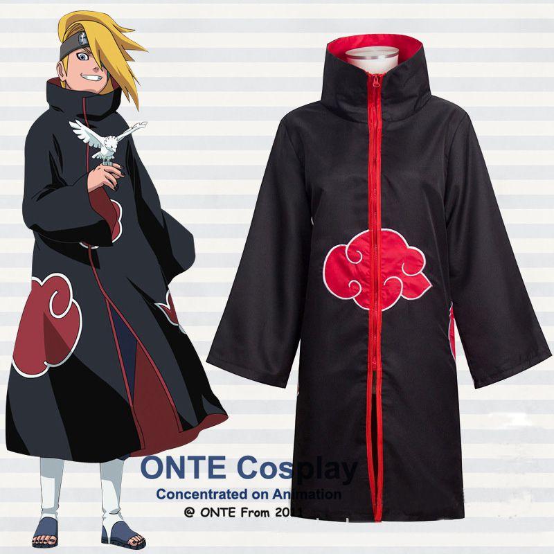 Tienda Online Disfraces Cosplay anime NARUTO akatsuki itachi capa deidara  Albornoces más tamaño ropa para la fiesta de Halloween XS-5xl  16d789b4cb7