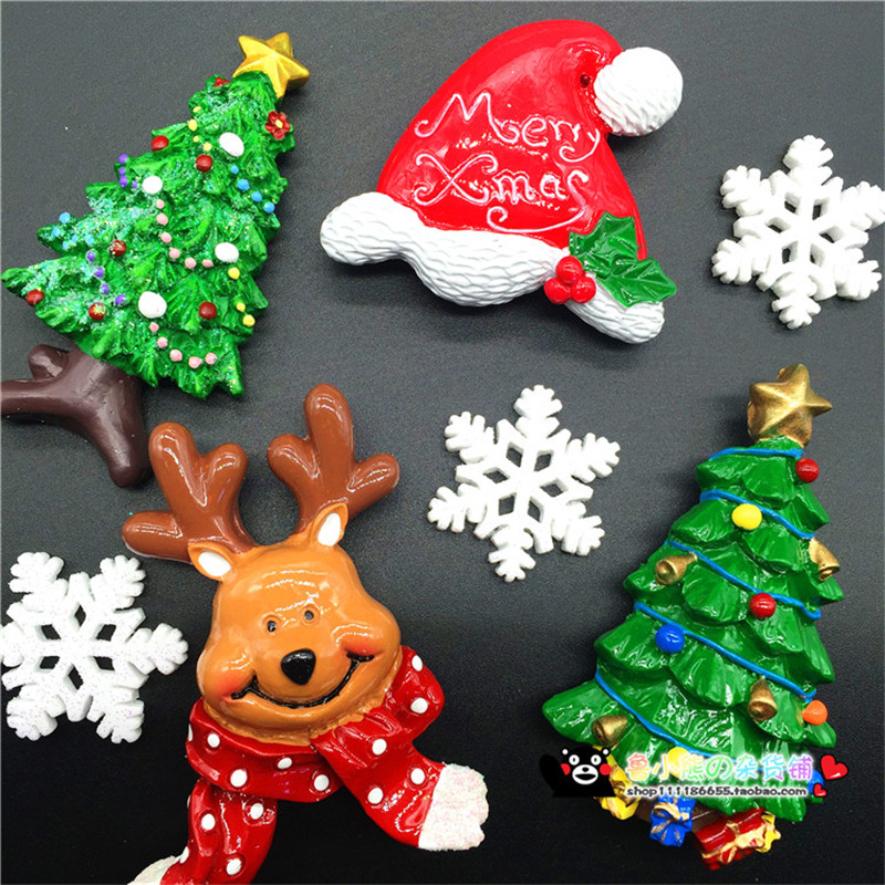 Finland Christmas Decorations.Us 7 3 20 Off Cute 3d Handmade Fridge Magnet Christmas Decorations For Home Finland Tourist Souvenir Refrigerator Magnetic Message Stickers In