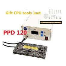PPD 120 распайки паяльная станция Отпаяйте для iphone ppd120 материнской Процессор процессор A8 A9 удалить сварки platfor Таблица Инструмент