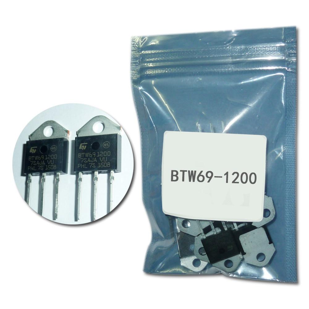 BTW69-1200  Thyristor 50A/ 1200V TO- 3P 5pcs/lot