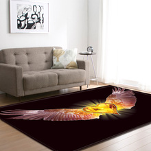 Creative Angel wings print carpets Living room coffee table bedroom area rug Kitchen Antiskid Floor Mat Bath doormat Home Carpet