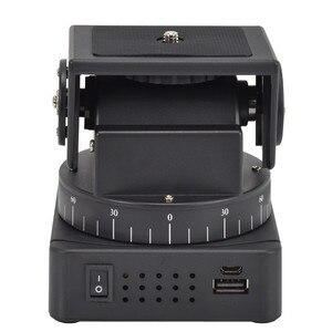 Image 4 - ZIFON YT 260 RF пульт дистанционного управления RC моторизованный наклон поворота для фотокамеры s мобильных телефонов Go pro Спортивная камера Sony w/ 1/4 дюймовая пластина