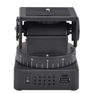 Image 4 - Zifon YT 260 Rf Afstandsbediening Rc Gemotoriseerde Pan Tilt Voor Foto Camera Mobiele Telefoons Go Pro Sport Camera Sony W/1/4 Inch Plaat
