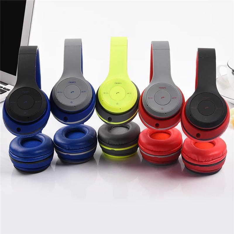 Headphones TM 19 headphone Overhead Wireless Bluetooth Earphone Dre Headset Earpods Support SD Card For MP3