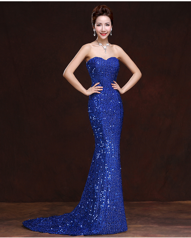 Stunning Mother Of The Bride Dresses: Sweet Memory Roal Blue Beautiful Night Sequin Mother Of