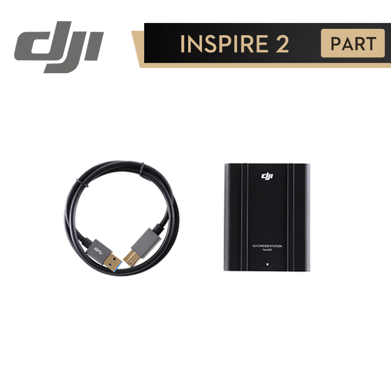 DJI Inspire 2 CINESSD Station for Inspire2 Drone Quadcopter RC Drones Original Accessories Part