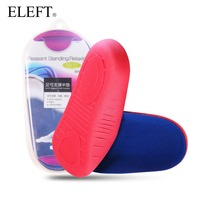 New 2014 Feet Care Arch Support Half Insoles Ultraportable U Shaped Heel Pad Orthotics Insoles For