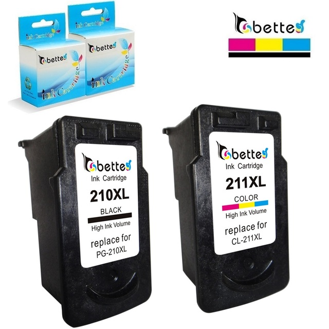 PG210 CL211 Ink Cartridge For Canon PG 210 CL 211 XL PIXMA