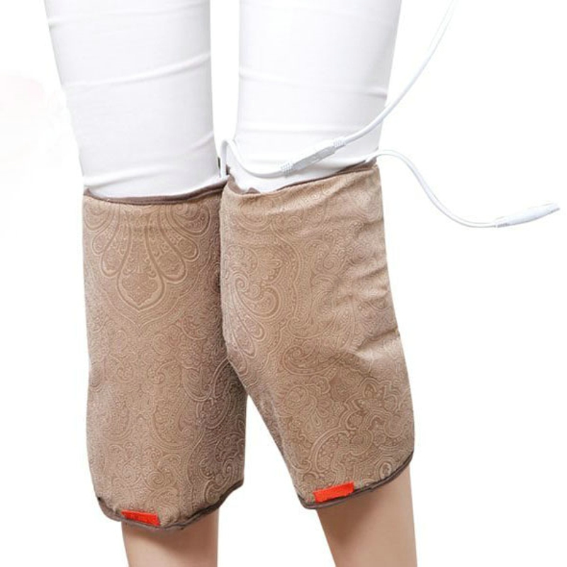 Moxibustion electric heating wormwood knee pads leg warm men and women old cold legs physiotherapy treasure knee heat pack salt Moxibustion electric heating wormwood knee pads leg warm men and women old cold legs physiotherapy treasure knee heat pack salt