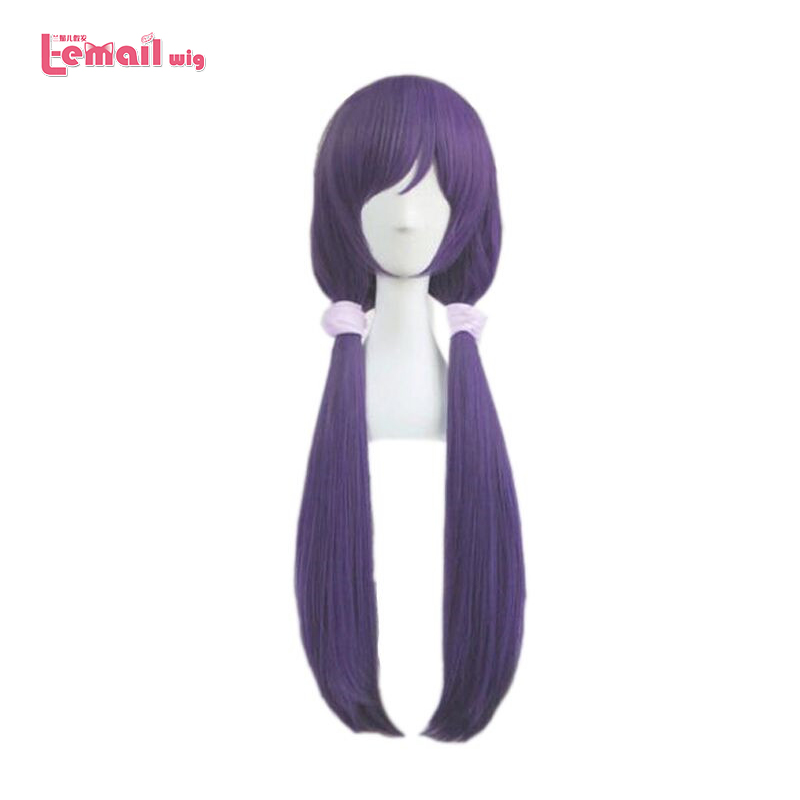 L-email Wig New Arrival Love Live Nozomi Tojo Cosplay Wigs 80cm Long Heat Resistant Synthetic Hair Perucas Cosplay Wig