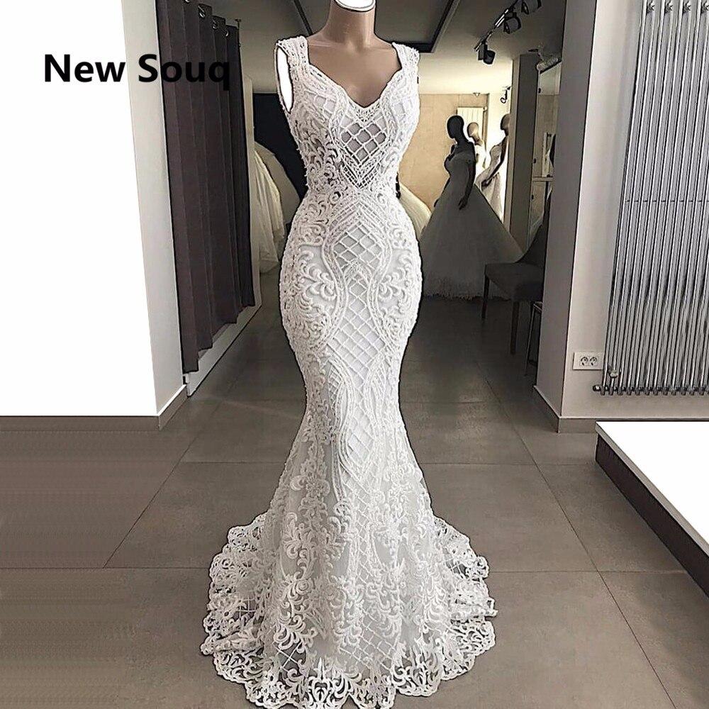 2019 New Mermaid Wedding Dresses Lace Bridal Dress Vestido De Noiva Formal  Wedding Gowns Robe De a88f37d7c