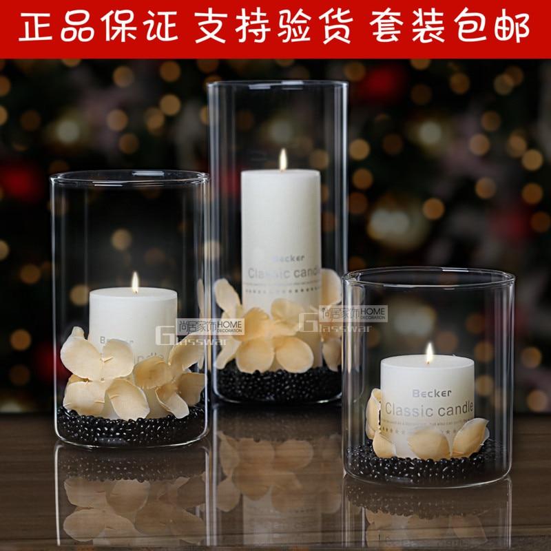 Glass candelero de rom ntico europeo sala de bodas for App decoracion hogar