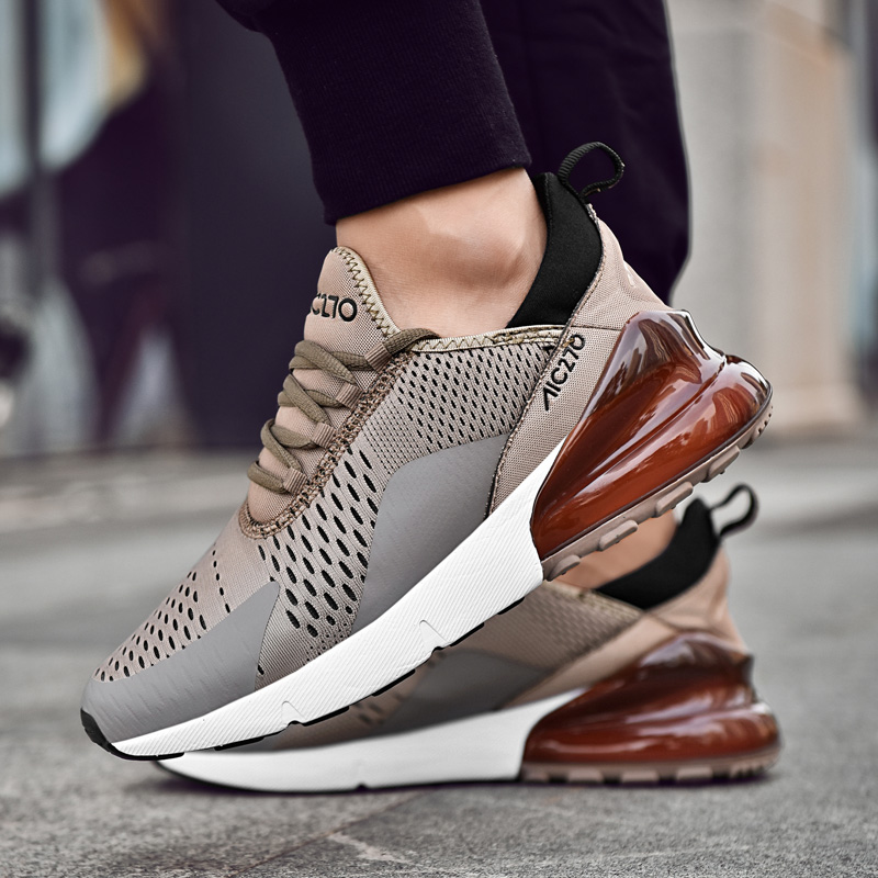 2019 New Air Mesh Running Shoes For Men Sneakers Outdoor Breathable Comfortable
