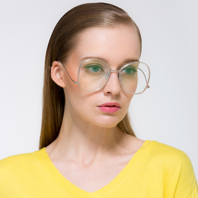 e5a94389fa 2017 Europe Fashion Brand Men Eyeglasses Vintage Gold Frame Glasses  Butterfly Eyewear Frames Women Oversized Glasses Frame Gafas