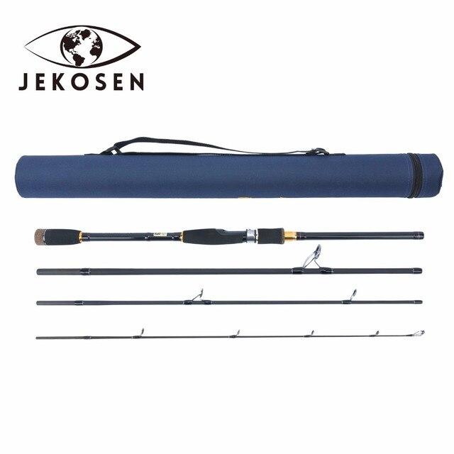 JEKOSEN Fishing Spinning Rod 1.8-2.7M 3-4Pieces Fishing Rod Lure weight 0.35-0.9oz(10-25g) Spinning Rod
