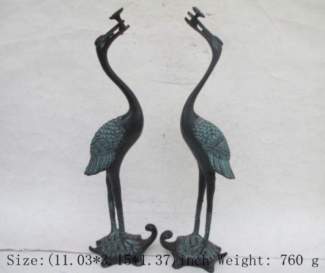 Collection antique dragon en bronze chinois. Inversion du dragon NR