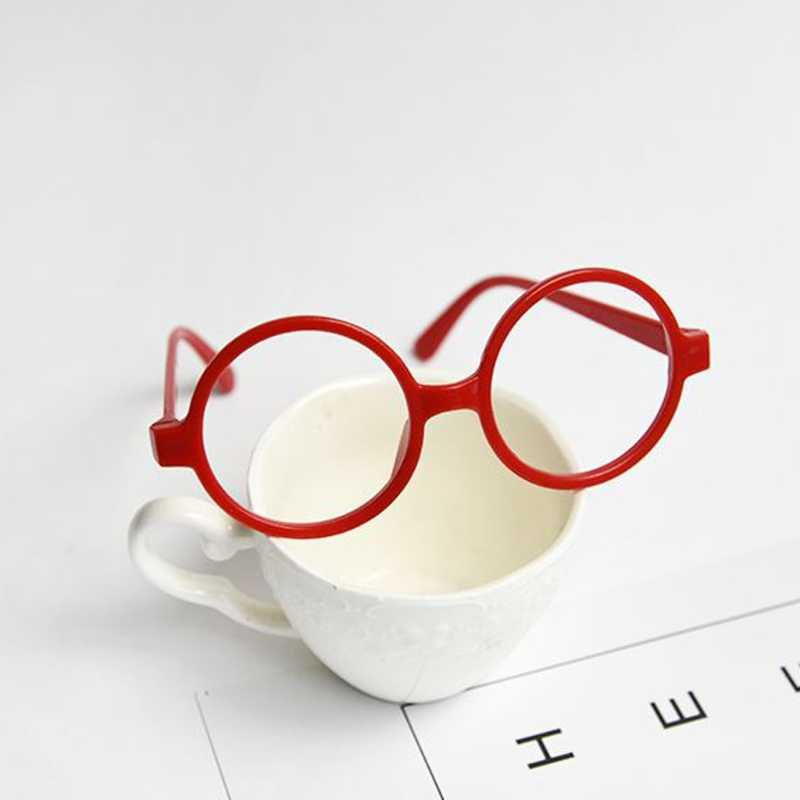 689375a849 ... 2018 New Childrens Kids Round Shape Black Or Red Frame Harry Potter Glasses  Christmas Gift Drop ...