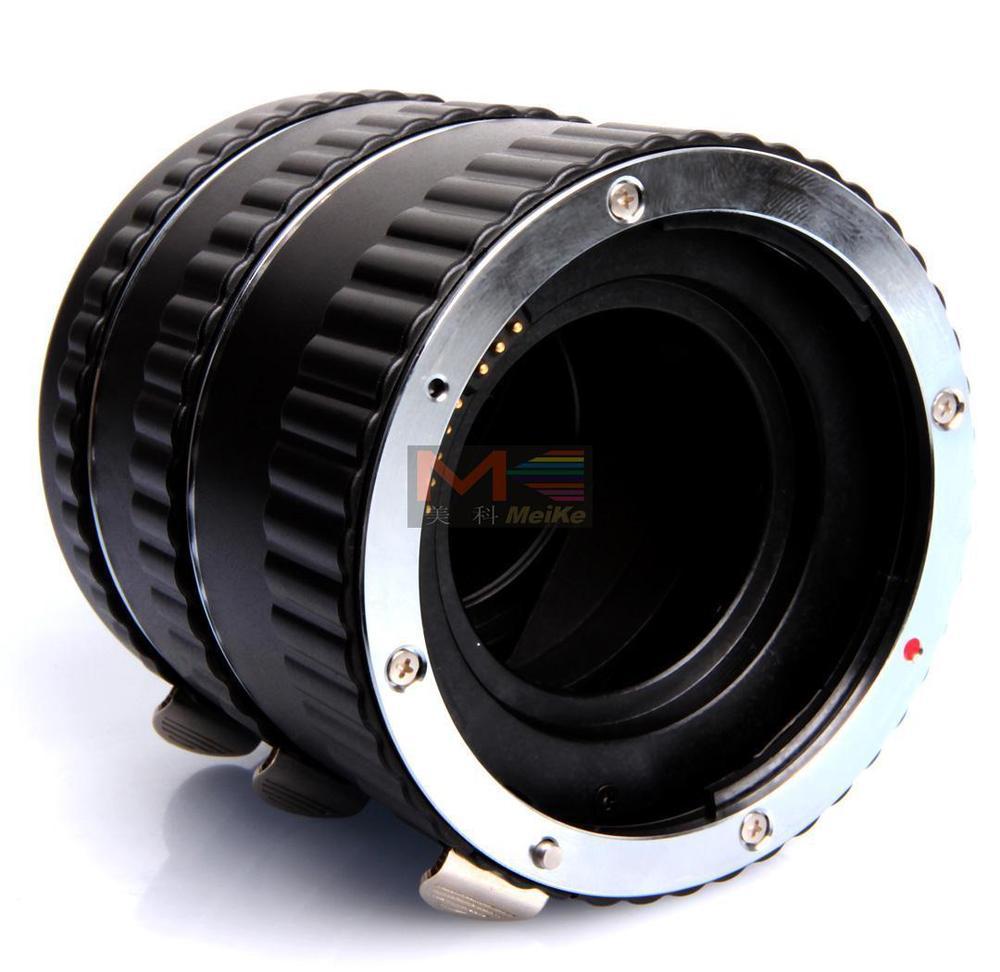 Meike mise au point automatique du Tube d'extension Macro en métal AF pour appareil photo Canon EOS - 3