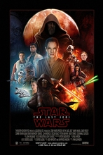 The Last Jedi Home Decor Fabric Poster