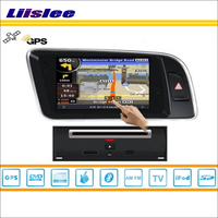 Liislee For Audi Q5 2009~2013 Car S100 Multimedia System Radio Stereo CD DVD TV GPS Map Nav Navi Navigation HD Touch Screen