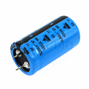 Image 3 - DIY Amplifier Accessories HIFI Capacitor VISHAY BC 450V 220UF Capacitance Amps Electrolytic Capacitor Filter 1PC Free Shipping