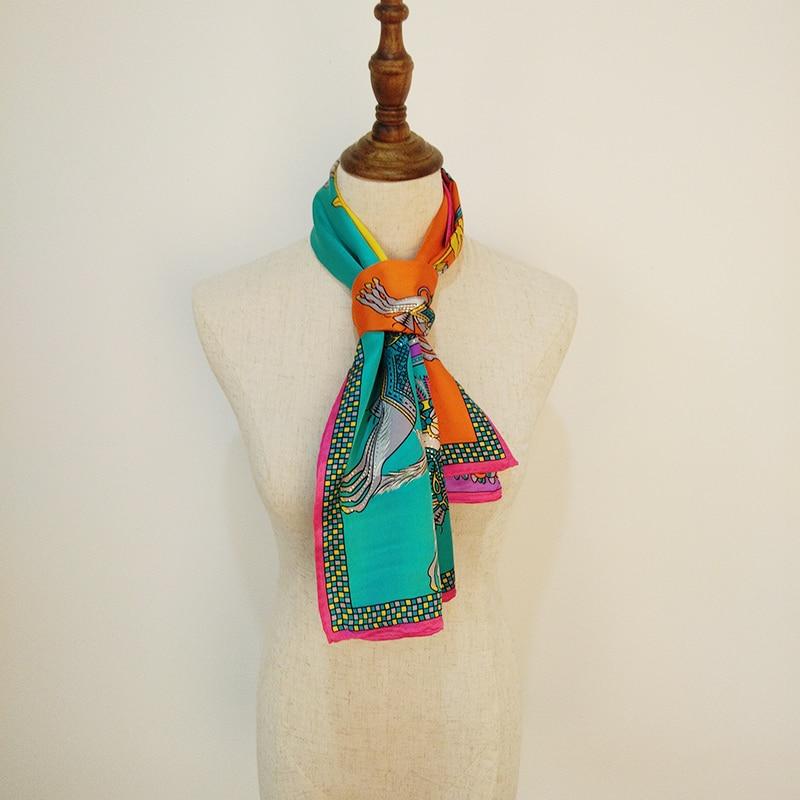 Adulte soie mode tendance élégant et belle texture doublure simple chaud et chaud style romantique femmes impression charme et