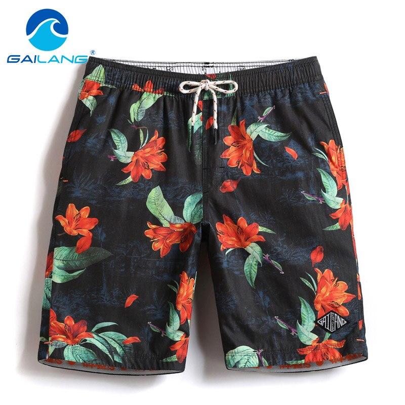 Gailang Brand Male Beach Shorts Boardshorts Casual Men Shorts Bermuda Quick Drying Active Wear Man Short Bottoms Swimwear Activating Blood Circulation And Strengthening Sinews And Bones Board Shorts